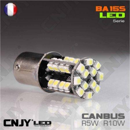 Ampoule 44 Led Canbus Bay15D P21/5W AUTO MOTO SLIM DESIGN