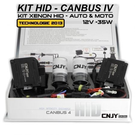 KIT XENON HB4 9006 HID BALLAST SLIM CNJY CANBUS 4 TECHNOLOGIE ANTI ERREUR ODB 2013 !!