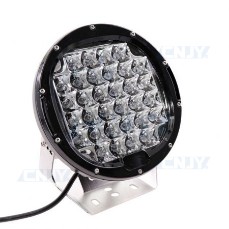 Phare de travail led rond Gzer 96W