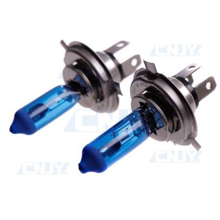 2 Ampoules plasma xenon 6000K H4 P43T 55/60W