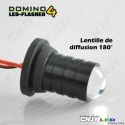 Kit led domino 4W lampe flash pour optique de phare 12v
