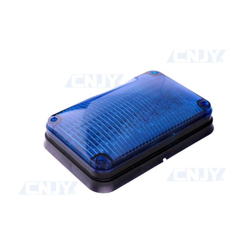 Feux périphérique à éclat fixe et flash à led bleu