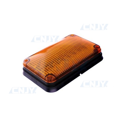 Feux périphérique à éclat fixe et flash à led orange