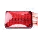 Feux périphérique à éclat fixe et flash à led rouge