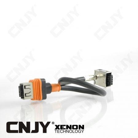 1 CABLE 20CM HID D1S / D1R XENON UNIVERSEL - HAUTE QUALITE CNJY