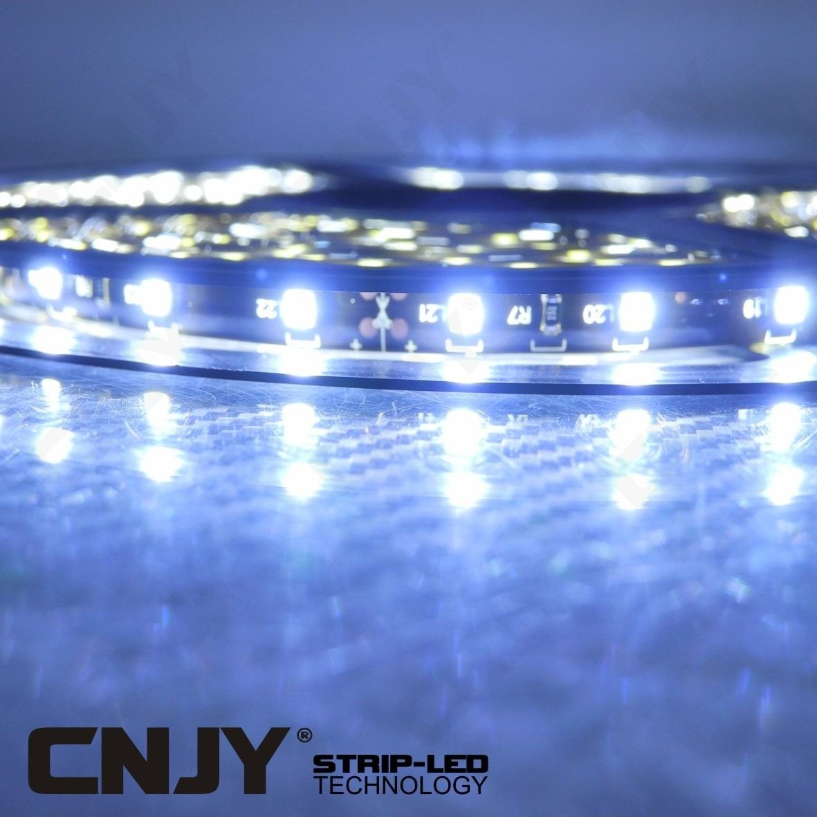 BANDE,LED,FLEXIBLE,STRIP,RUBAN,ROULEAU, DECORATION,12V,BAR,LED,DEL,SMD,ETANCHE,AQUARIUM,TUNING,blanc,froid