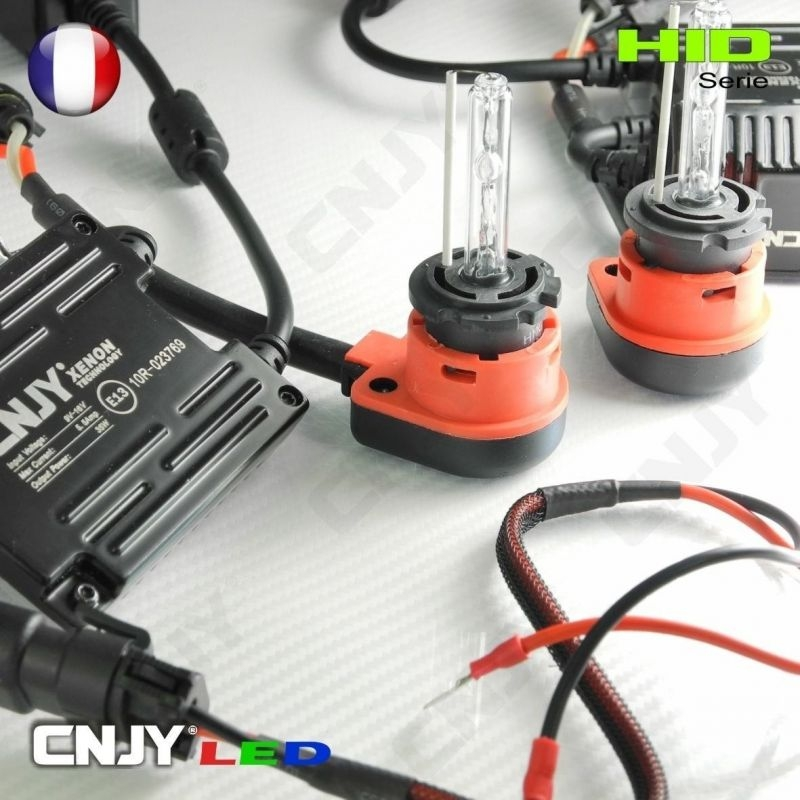 KIT DE CONVERSION HID XENON CABLE & BALLAST AMPOULE D2R D2S 35W ANTI ERREUR ODBHO