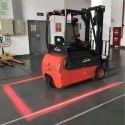 Lampe d'avertissement sécurité à DEL rouge chariot élévateur Zone piétons