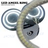 Kit de 2 cercles lumineux CNJY® Angel Eyes universel et adhésif 12V.
