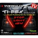 Bande led TiREX rouge 12V stop veilleuse auto moto