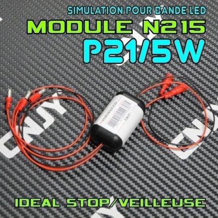 MODULE N215 STOP/VEILLEUSE POUR LE MONTAGE DE VOS BANDE LED 12V