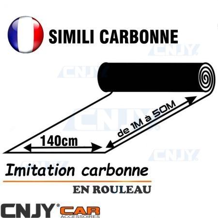Rouleau similicuir carbonne