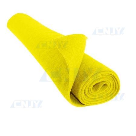 Rouleau de moquette acoustique jaune 70/140cm