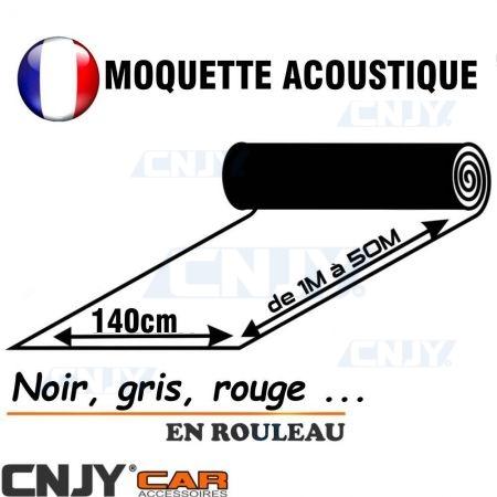 Rouleau de moquette acoustique