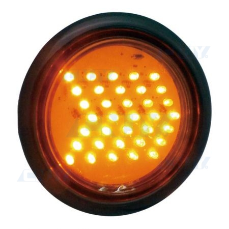 Feu directionnel à led orange 12V/24V