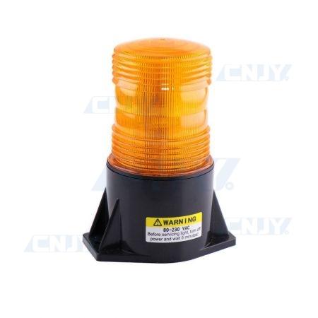 Gyrophare led orange portail avertisseur clignotant 220V AC