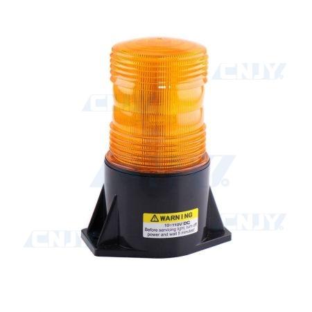 Gyrophare led orange portail avertisseur clignotant 12V 24V