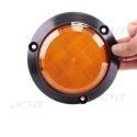 Avertisseur visuel led orange portail clignotant 12V 24V