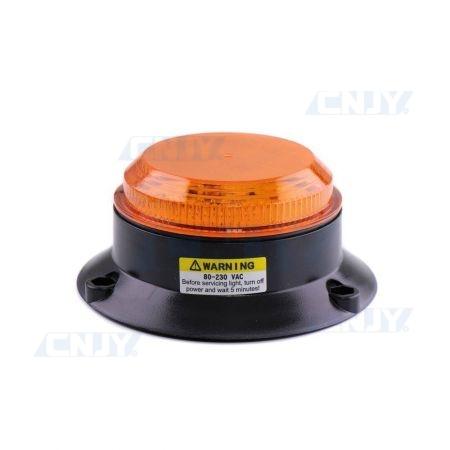 Avertisseur visuel led orange portail clignotant 220V