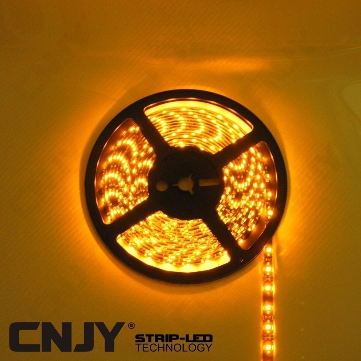 BANDE,LED,FLEXIBLE,STRIP,RUBAN,ROULEAU, DECORATION,12V,BAR,ORANGE,LED,DEL,SMD,ETANCHE,AQUARIUM,TUNING