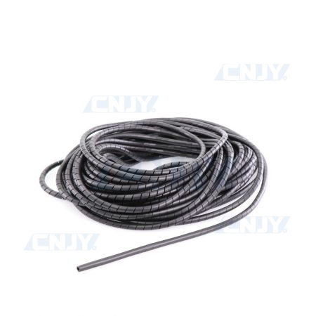 Gaine cache fil spirale souple 6mm
