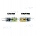 AMPOULE 12 LED G4 12V AC DC BLANC CHAUD FROID