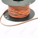1 METRE DE CABLAGE : 2x0.75mm² - noir/rouge
