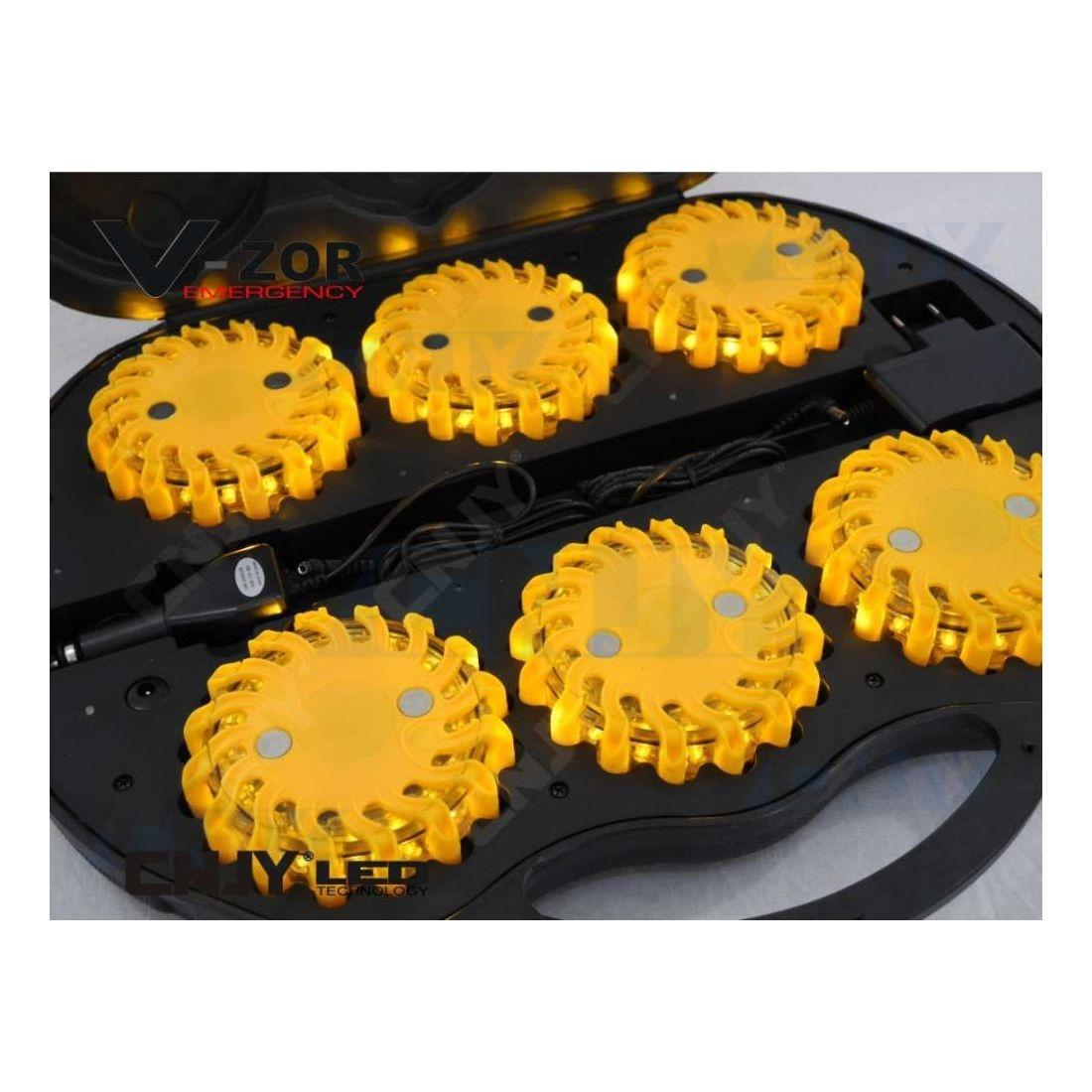 coffret led module clignotant orange