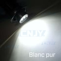 Kit 2 ampoules angel eyes feux diurne BMW E90 E91 80W CREE BLANC 12V