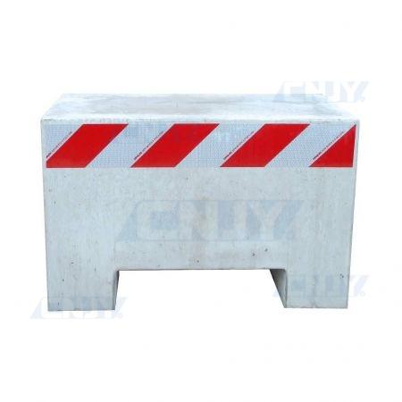 Kit de signalisation pour massif béton anti bélier et borne anti intrusion