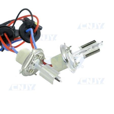 2 AMPOULES H4 SIMPLE DE RECHANGE XENON HID 35W/55W AC CNJY®