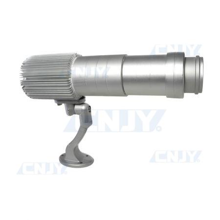 Canon projecteur pour marquage publicitaire sur façade à led