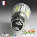 AMPOULE LED P21/5W BAY15D BLANC ORANGE