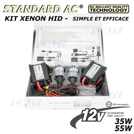 KIT XENON H12 HID STANDARD 12V