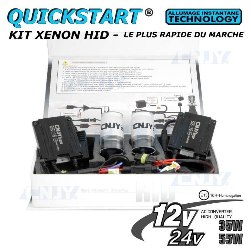 Kit xenon H1 Quick start