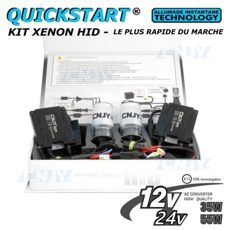 Kit bi xenon H4 Quick start
