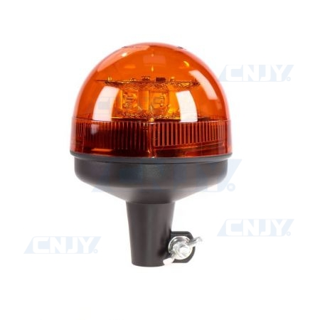Gyrophare led 24W orange sur mât rigide ECE R65