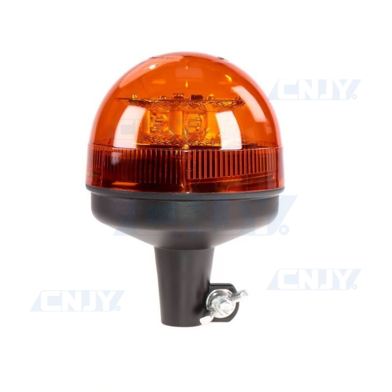 Gyrophare led sur hampe orange