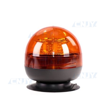 Gyrophare led orange 24W boule magnétique ECE R65