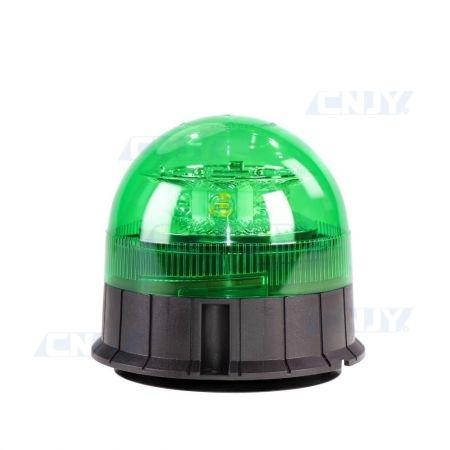 Gyrophare led vert magnétique