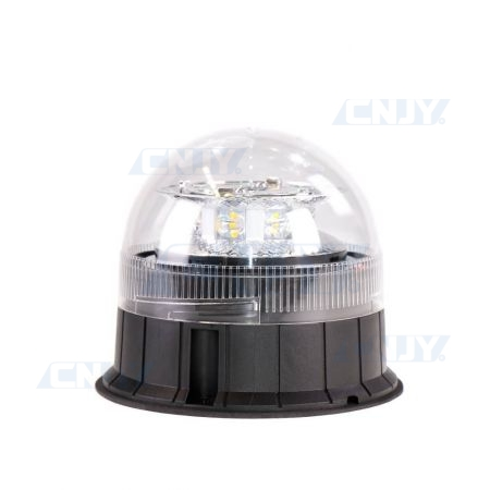 Gyrophare led blanc 24W ISO 3 points ECE R65