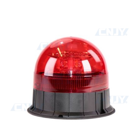 Gyrophare led rouge 24W ISO 3 points ECE R65