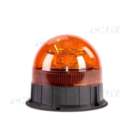 Gyrophare led orange 24W ISO 3 points ECE R65