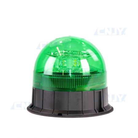 Gyrophare led vert 24W ISO 3 points ECE R65