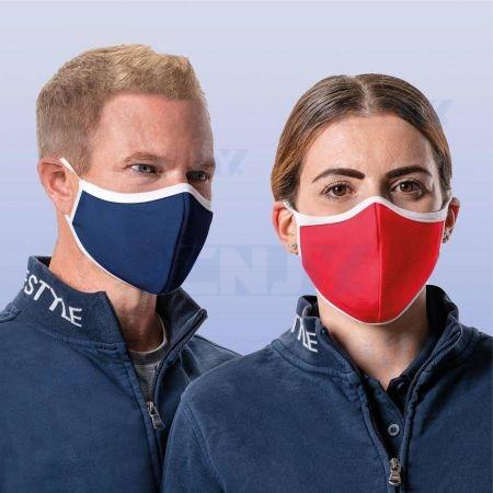 LOT DE 3 MASQUES de protection respiratoire tissu lavable réutilisable