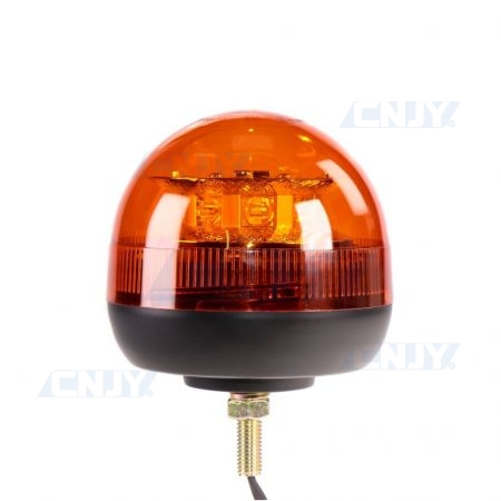 Gyrophare led orange 24W ISO 1 point central ECE R65