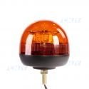 Gyrophare led orange ISO fixation centrale