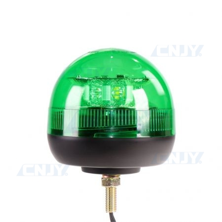 Gyrophare led vert 24W ISO 1 point central ECE R65
