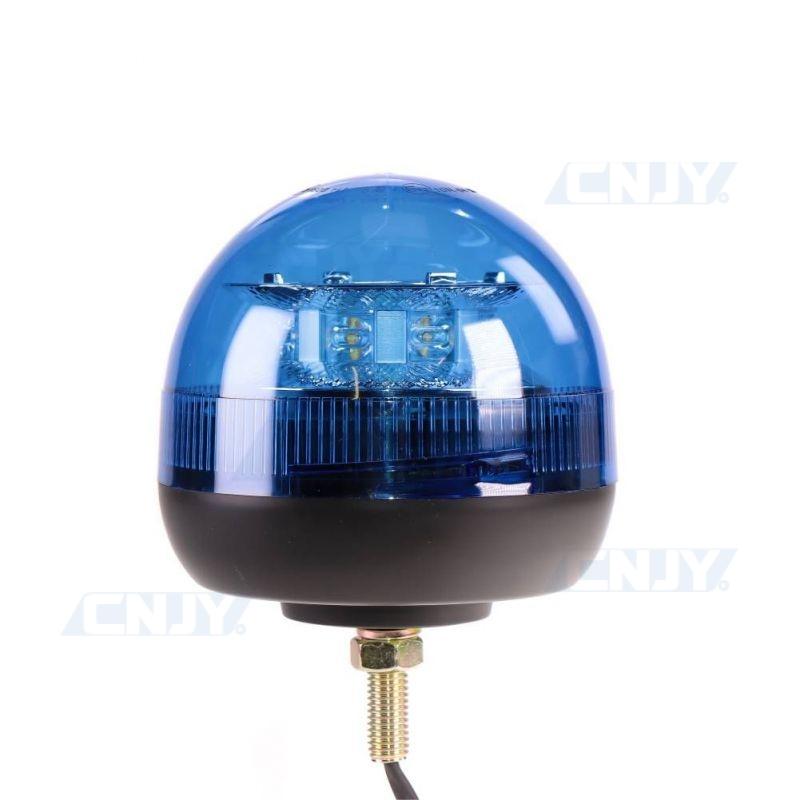 Gyrophare led bleu ISO fixation centrale