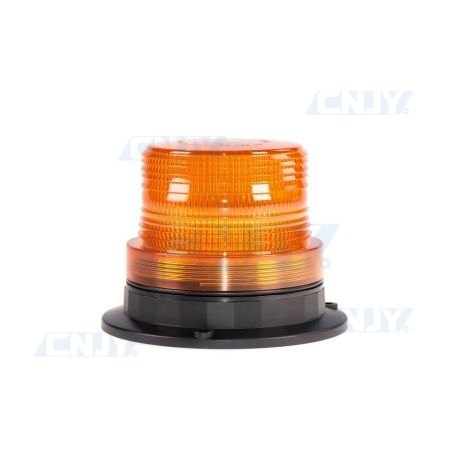 Gyrophare led orange magnétique 16W compact ECE R65